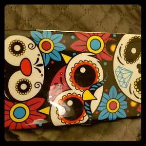 Hot Topic Owl Hinged Wallet